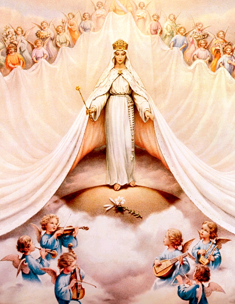 Queenship Of Mary May 31 | Traditional Catholic Priest