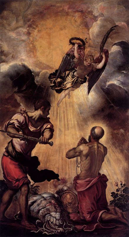 Paul_martyrdom of_TINTORETTO