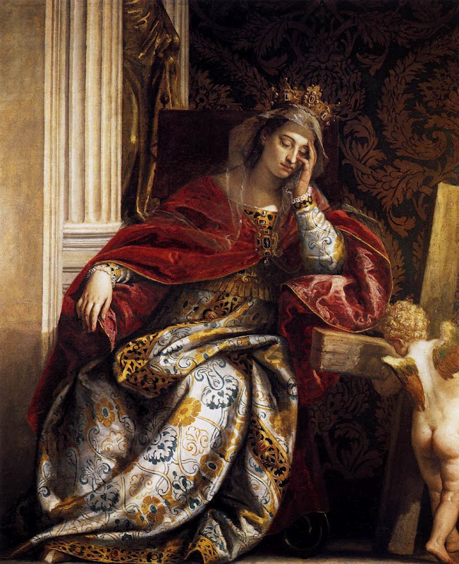 Helen_Vision of St_VERONESE, Paolo