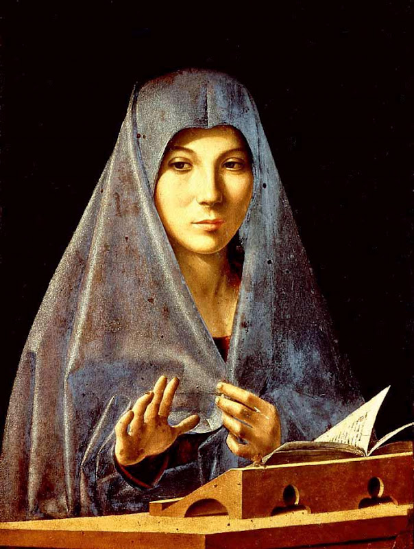 Virgin Mary Annunciate_ANTONELLO da Messina