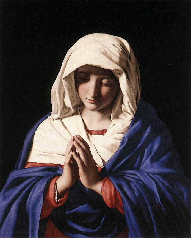 Virgin in Prayer_SASSOFERRATO