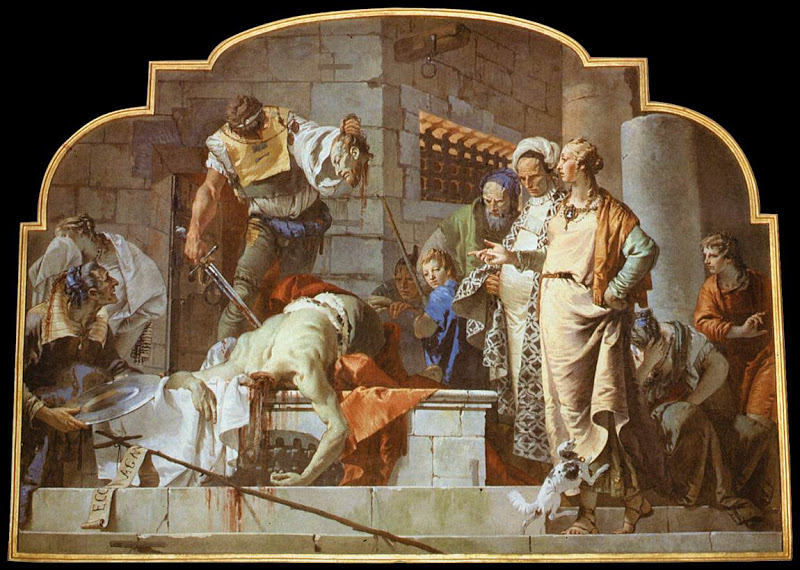 John the Baptist_beheading_TIEPOLO, Giovanni Battista
