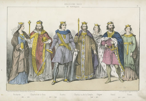 Frankish kings and queens of the Carolingian dynasty