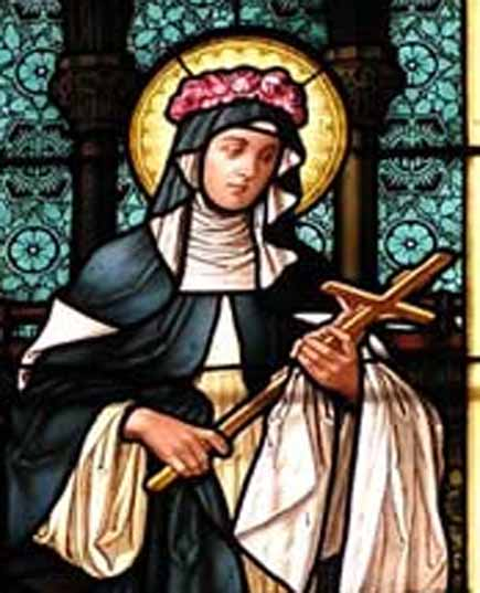 St rose of lima august 30th traditional catholic priest for St rose of lima coloring page